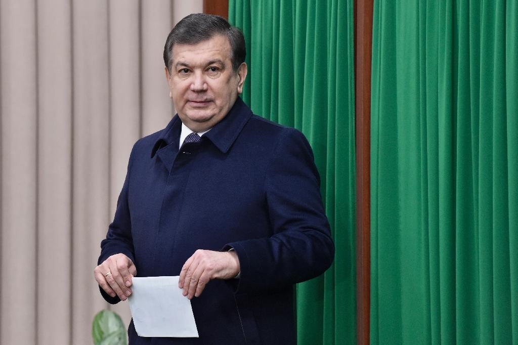 Shavkat Mirziyoyev scored a comfortable victory in presidential elections (AFP Photo/Anvar Ilyasov)