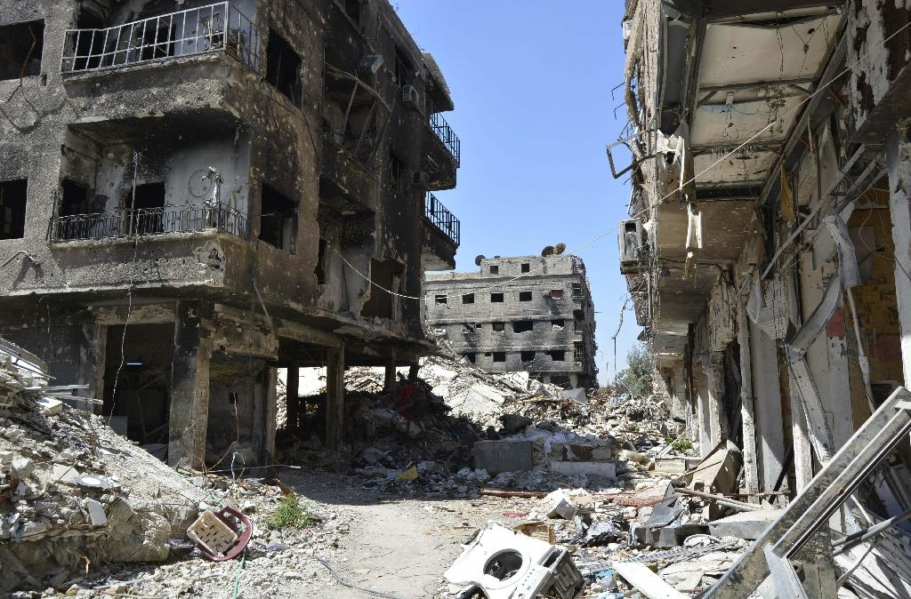 There were 560,000 Palestine refugees living in Syria before the start of the conflict in 2011 (AFP Photo/)