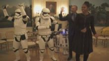 Barack Obama Gets Down With The Stormtroopers On Star Wars Day