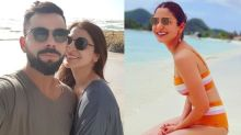 Virat Kohli Shares A Sun-Kissed Mushy Picture With His Wife Anushka Sharma From Their Beach Vacation