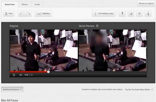 YouTube add face blur tech to its videos, creates anonymous copies of your clips