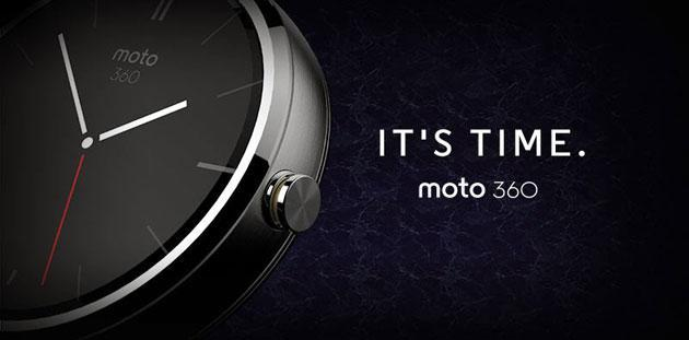 This is Motorola's new Android Wear smartwatch: Moto 360