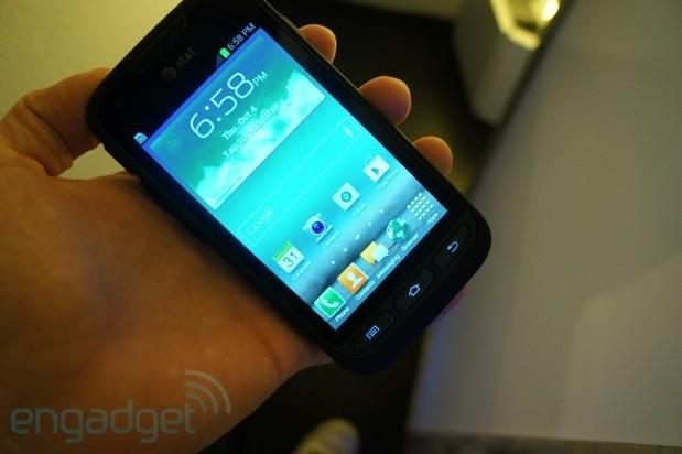 Samsung Galaxy Rugby Pro for AT&T hands-on