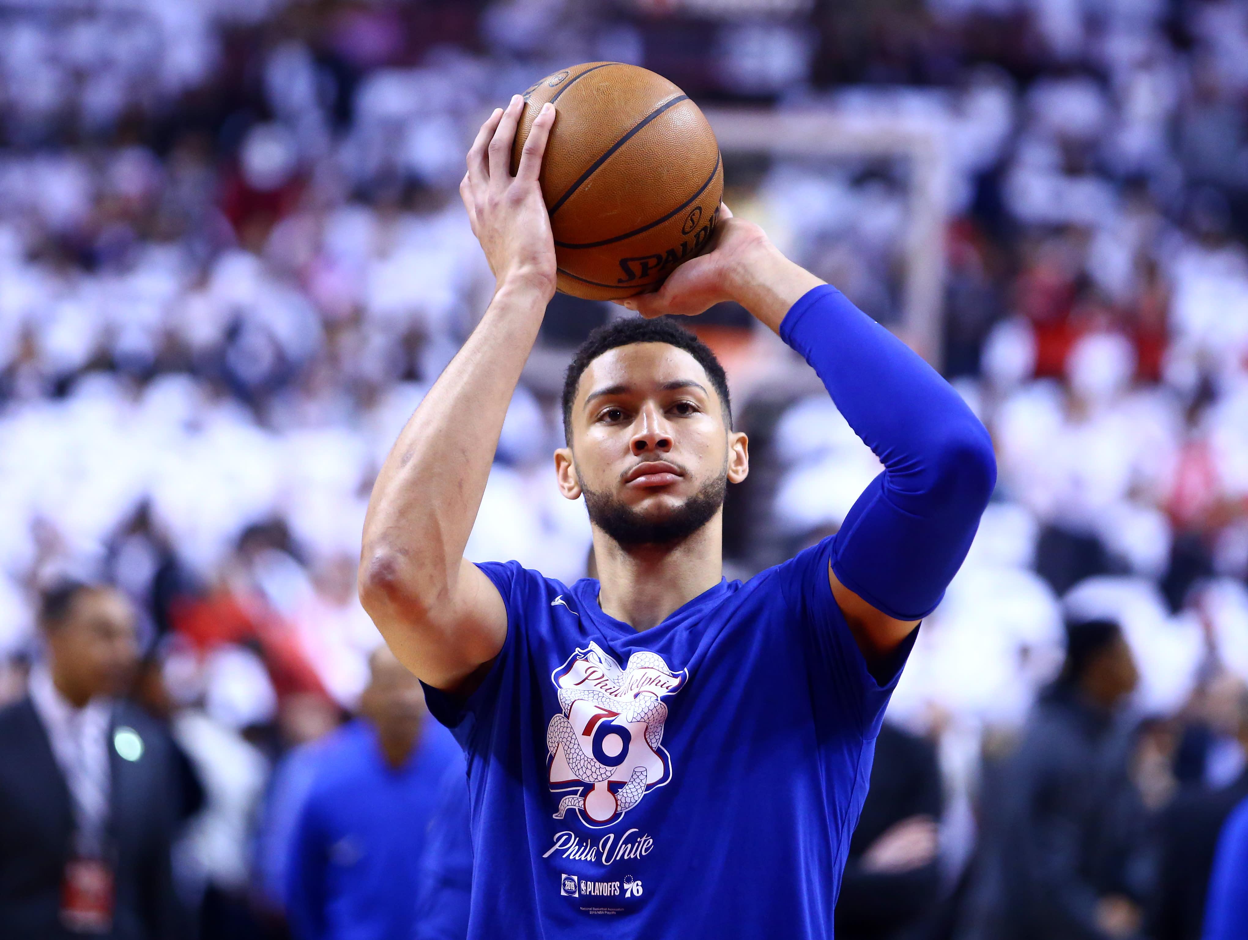 【影片】連進4個Logo Shot!Simmons苦練得到回報,遠投有了明顯進步!-籃球圈