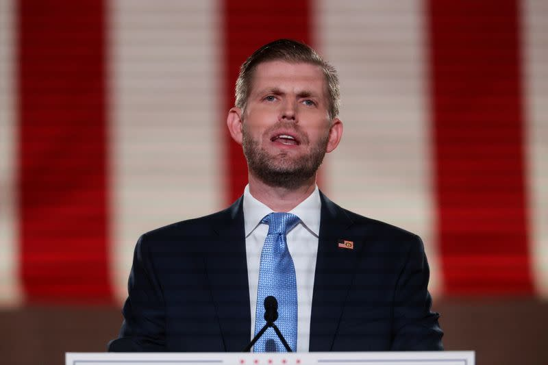 Eric Trump must testify in NY probe before election, judge says