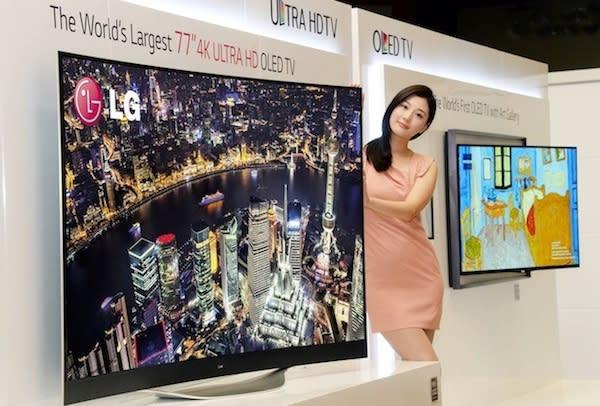 LG anuncia un buen repertorio de TVs OLED Ultra HD y la expansión de sus centros de producción