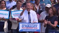 Martin O'Malley joins the presidential race