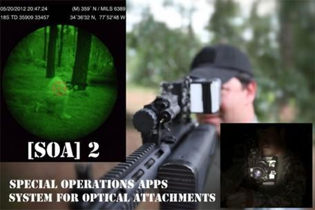 iPhone, iPad optics add night vision for covert missions