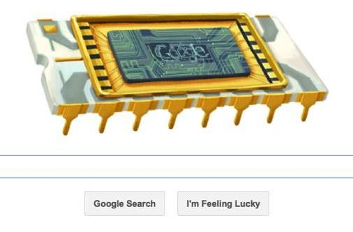 Google doodle celebrates Robert Noyce; Intel co-founder and 'Mayor of Silicon Valley'
