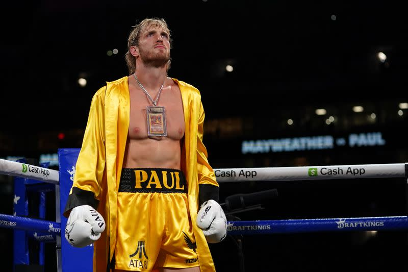 Boxing-Paul channels fictional boxer Rocky and goes distance against Mayweather