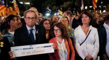 Catalan hunger strikers sending message, not risking life -jailed separatist