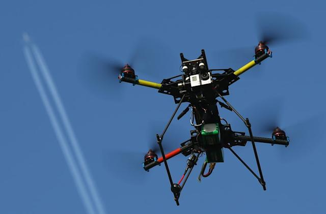California bill allows firefighters to ground pesky drones