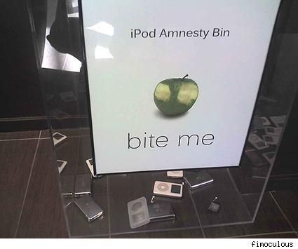 Microsoft's iPod Amnesty Bin keeps Zune coders on the up and up