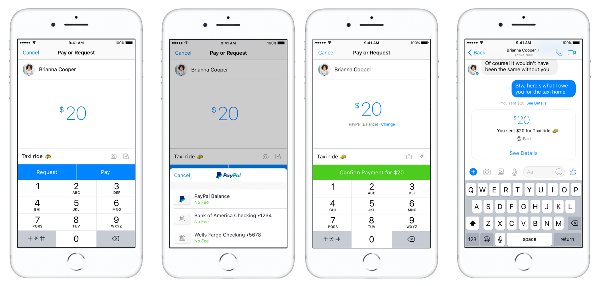 Paypal Users Can Now Send Money To One Another Inside The Messenger Source