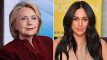 Hillary Clinton Defends Meghan Markle Amid 'Inexplicable' Treatment She's Received in U.K. Tabloids