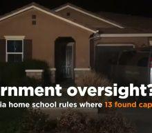 Lawmaker seeks home school oversight after 13 found captive