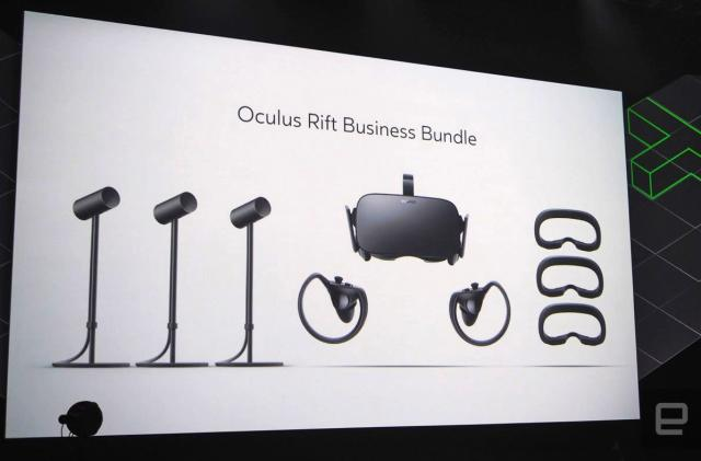 Facebook brings VR to your office with the 'Oculus for Business' pack