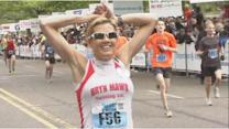 Cecily Tynan finishes Broad Street Run