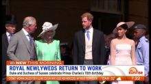 The Royals return to work