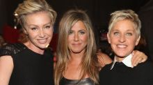 Justin Theroux Wishes Jennifer Aniston a Happy Birthday While Ellen DeGeneres Shares Epic Video Montage