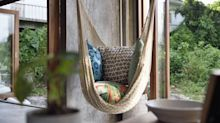 This top-rated chair hammock will bring beach club vibes to your home