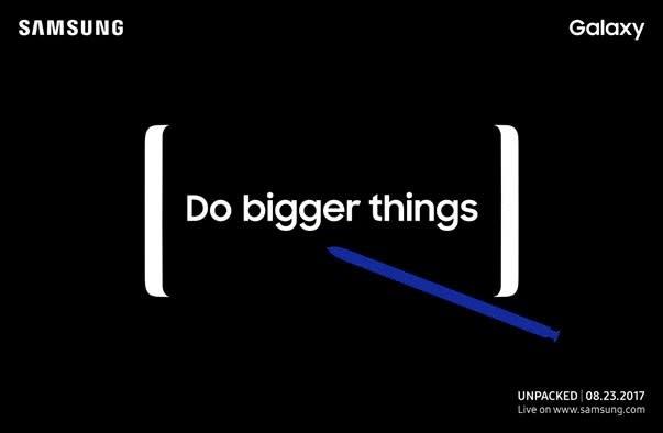 Das Galaxy Note 8 zeigt sich in Midnight Black (und anderen Farben)