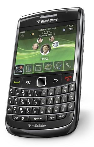 T-Mobile BlackBerry Onyx press image leaks out