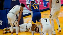 NBA says injury rate this season down slightly from normal