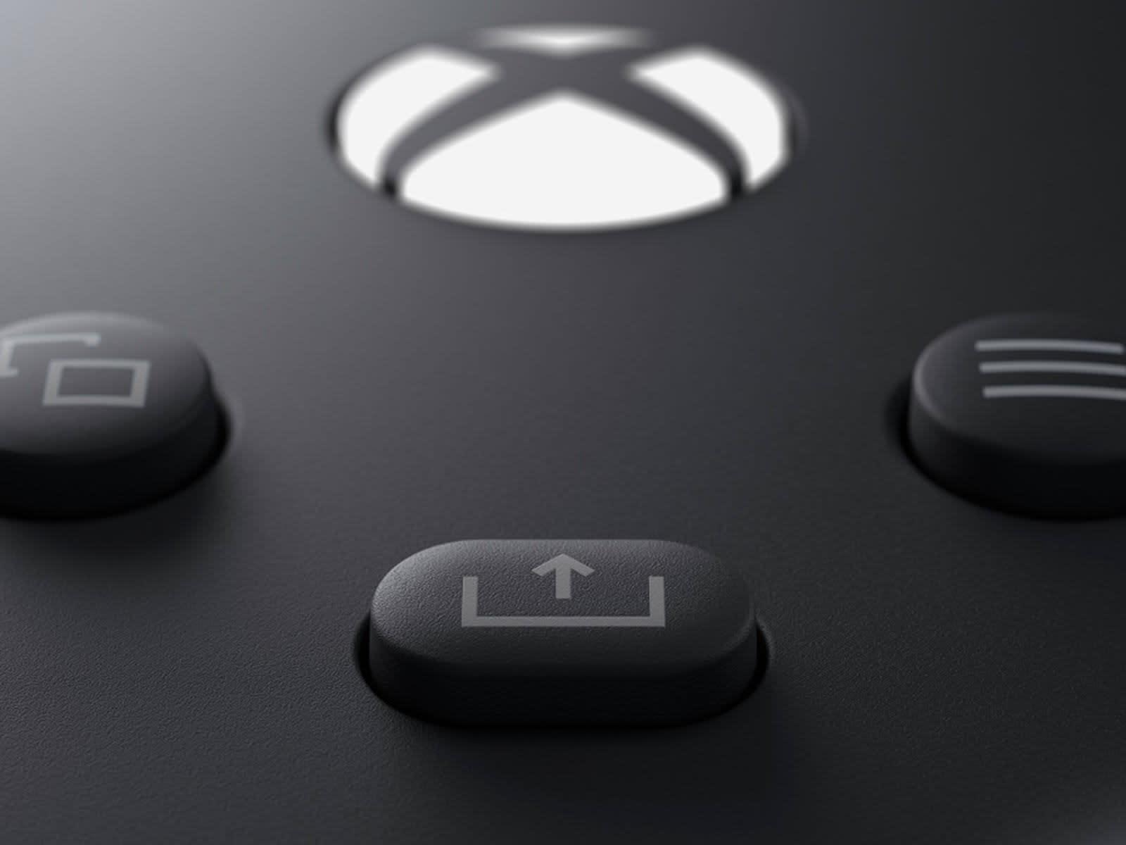 Xbox Series X Share button