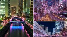 東京超靚「夜櫻」聖誕燈飾 去日本必到打咭