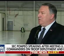 Pompeo highlights diplomatic strategy with Iran after meeting US military commanders on troop deployment