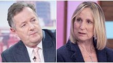 Piers Morgan Blocks Loose Women's Carol McGiffin On Twitter After Coronavirus Row