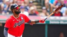 Indian hit Four Homers, pound Cardinals 7-2