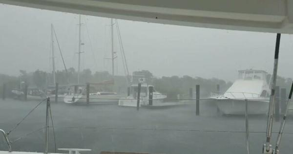 Wind and Rain Lash Key West as Tropical Storm Sally ...