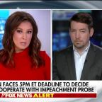 Trump administration faces deadline to decide whether to cooperate with impeachment probe