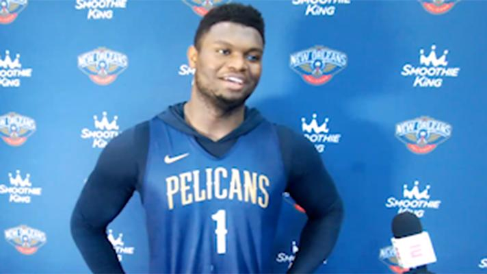 Zion Williamson on being a game-time decision in Pelicans return