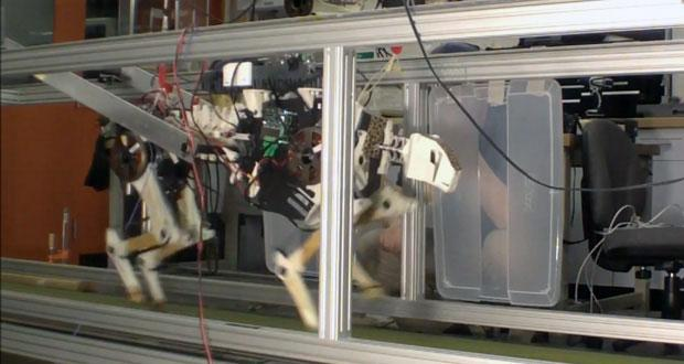 MIT's cheetah robot runs faster, more efficiently, can carry its own power supply (video)