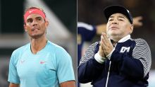 Rafa Nadal leads global sporting tributes to Diego Maradona