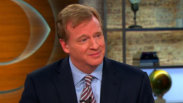 Goodell speaks out on brain injuries in the NFL
