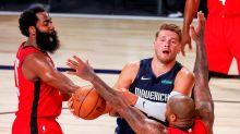 153-149. Harden gana el duelo a Doncic y los Rockets remontan ante los Mavericks