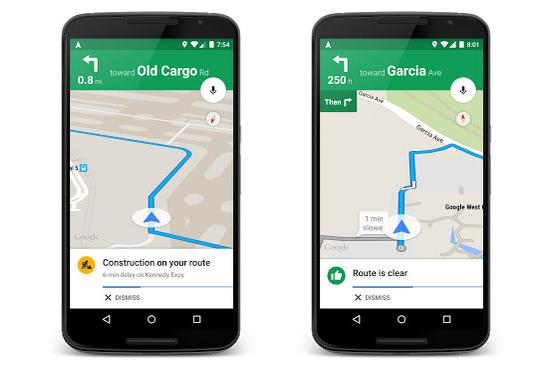 Google Maps gets even more detailed traffic features