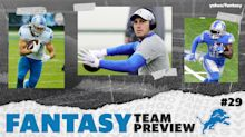 NFL Team Preview: Lions lack depth, but two players will be fantasy factors