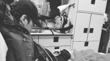 Owen Cheung gets injured rehearsing for TVB gala