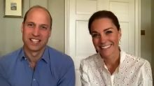 Prince William reveals he has been volunteering as a counsellor during coronavirus pandemic