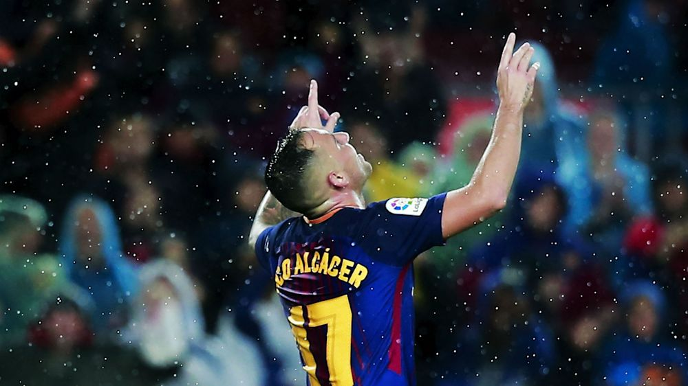 Patience pays off for Alcacer