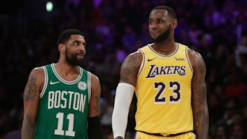 LeBron's public appeal for Kyrie to join Lakers