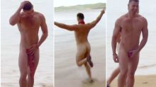 The hunky men of Australian Survivor gave viewers a naked treat