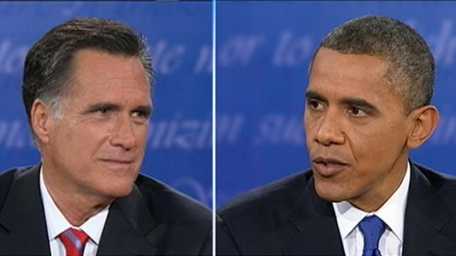 Presidential Debate: Obama: Romney 'All Over the Map' on Iran