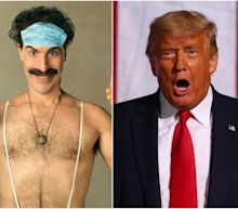 Sacha Baron Cohen responded to Trump calling him a creep by thanking him for the free 'Borat' publicity