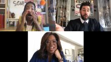 Oprah and other stars help John Krasinski surprise 2020 grads on 'Some Good News'